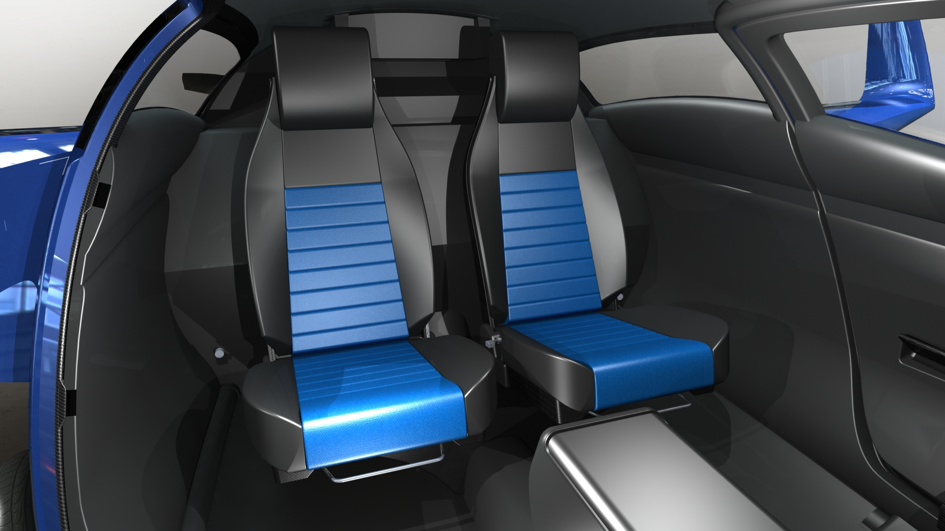Raptor Aircraft Rear Seats